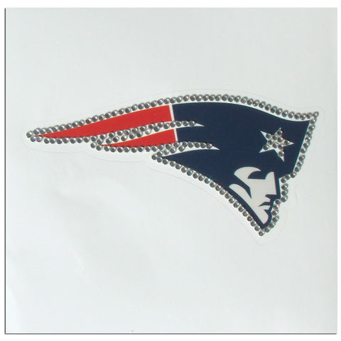 New England Patriots Vinyl Bling Auto Decal (NFL)
