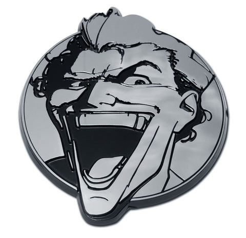 The Joker Chrome Auto Emblem (DC Comics)