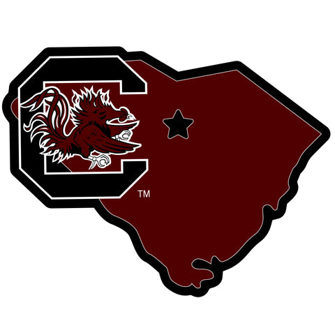 South Carolina Gamecocks Home State Magnet (NCAA) SC Shape
