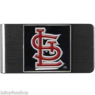 St. Louis Cardinals Stainless Steel Money Clip (MLB)