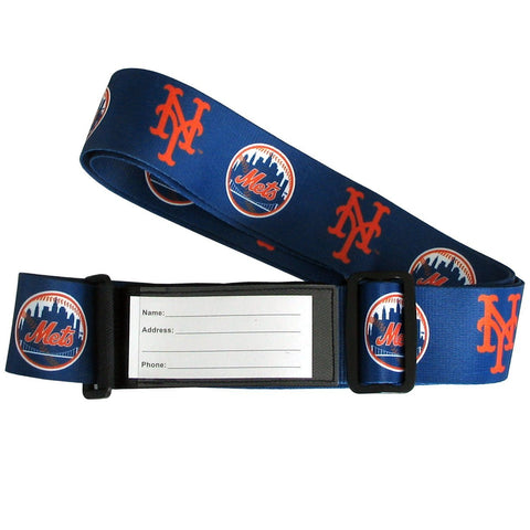 New York Mets Luggage Strap MLB Baseball Secure & Identify Luggage