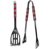 Ohio State Buckeyes 2 Piece Stainless Steel BBQ Tool Set (NCAA)