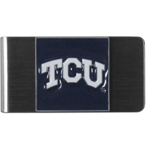 TCU Horned Frogs Stainless Steel Money Clip (NCAA)