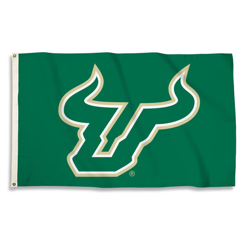 South Florida Bulls 3' x 5' Flag (Logo) NCAA