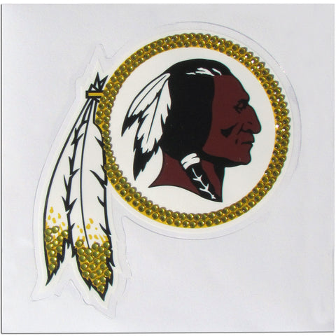 Washington Redskins Vinyl Bling Auto Decal (NFL)