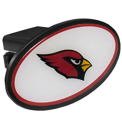 Arizona Cardinals Durable Plastic Oval Hitch Cover (NFL)