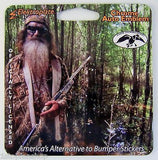 Duck Commander Chrome Metal Auto Emblem (Duck Cutout)
