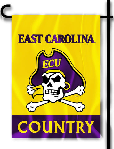 "East Carolina Pirates 13"" x 18"" Two-Sided Garden Flag (Country) NCAA Licensed"