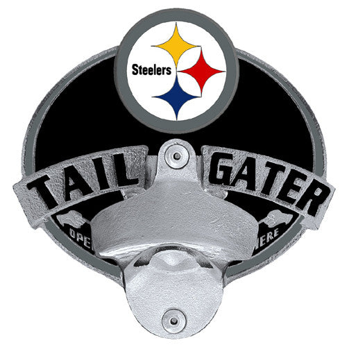 Pittsburgh Steelers Tailgater Hitch Cover With Bottle Opener (NFL)