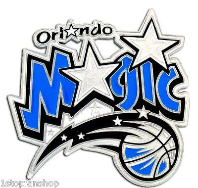 Orlando Magic 3-D Metal Hitch Cover NBA Licensed Basketball