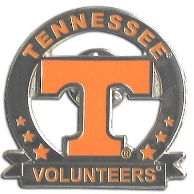 Tennessee Volunteers Lapel Pin (Glossy) NCAA
