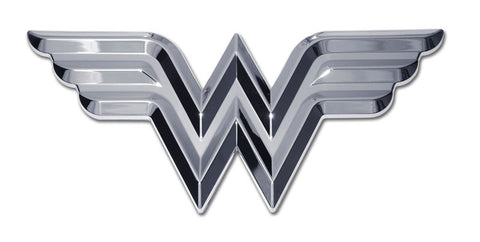 Wonder Woman Chrome Auto Emblem (3-D) DC Comics