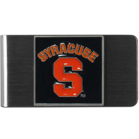 Syracuse Orange Stainless Steel Money Clip (NCAA)