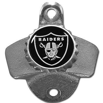 Oakland Raiders Wall Mount Bottle Opener (NFL)