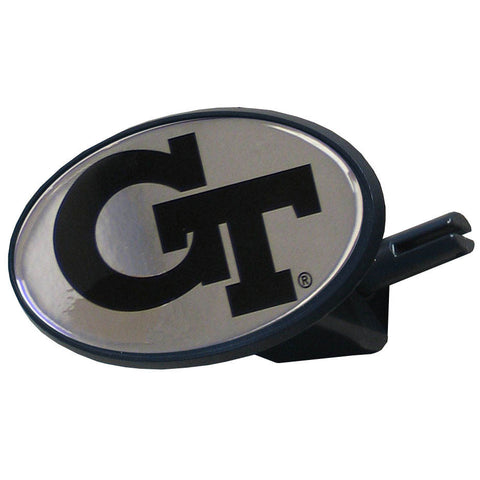 Georgia Tech Yellowjackets Durable Plastic Oval Hitch Cover (NCAA)