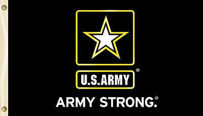 U.S. Army 3' x 5' Flag (Army Star Army Strong) Military Officially Licensed