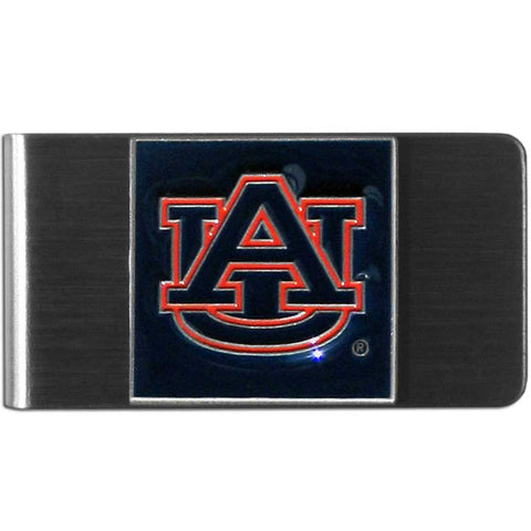 Auburn Tigers Stainless Steel Money Clip (NCAA)