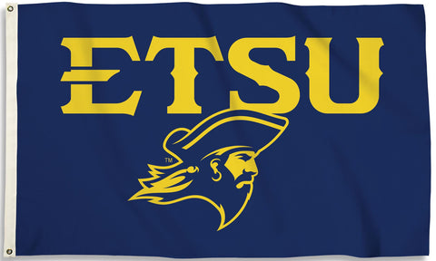East Tennessee State Buccaneers 3' x 5' Flag (Logo) NCAA