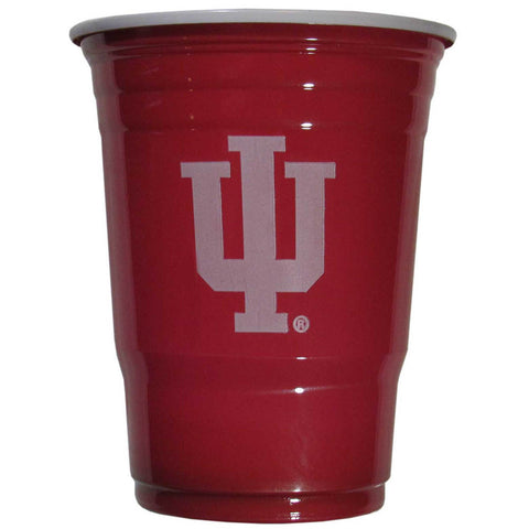 Indiana Hoosiers 18 count 18 oz Disposable Plastic Cups (NCAA)