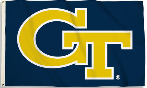 Georgia Tech Yellowjackets 3' x 5' Flag (GT Logo Only) NCAA