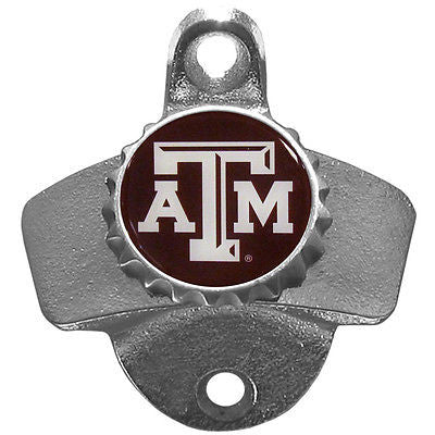 Texas A&M Aggies Wall Mount Bottle Opener (NCAA)