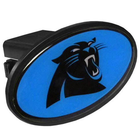 Carolina Panthers Durable Plastic Hitch Cover (NFL)