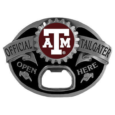 Texas A&M Aggies Tailgater Belt Buckle with Bottle Opener (NCAA)