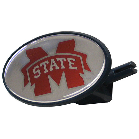 Mississippi State Bulldogs Durable Plastic Oval Hitch Cover (NCAA)
