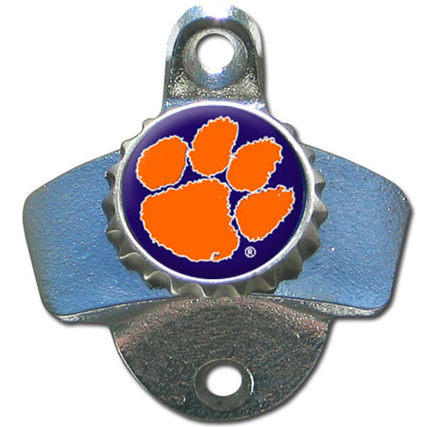 Clemson Tigers Wall Mount Bottle Opener (NCAA)