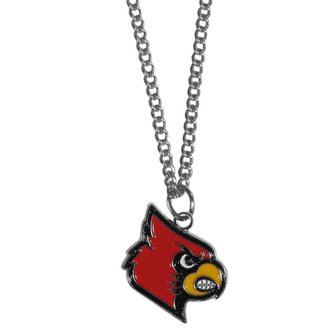 "Louisville Cardinals 22"" Chain Necklace (NCAA) SM"