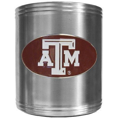 Texas A&M Aggies Insulated Stainless Steel Can Cooler Coozie (NCAA)