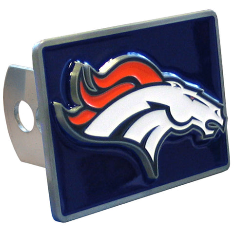 Denver Broncos Metal Hitch Cover (NFL) (Class II and Class III)