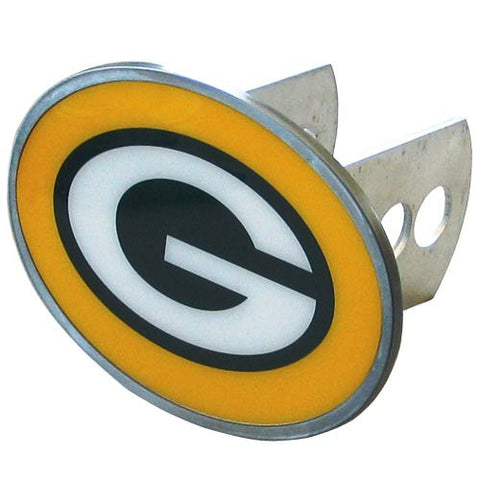 Green Bay Packers Metal Oval Hitch Cover (NFL)
