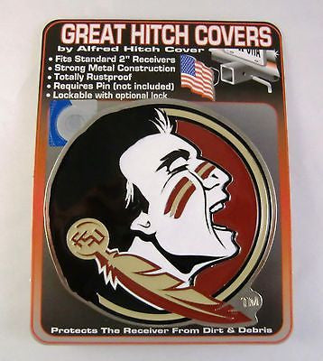 Florida State Seminoles Metal Hitch Cover (Seminole) NCAA