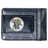 Kentucky Wildcats Fine Leather Money Clip (NCAA) Card & Cash Holder (Mascot)
