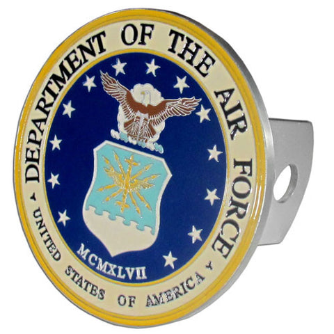 U.S. Air Force 3-D Metal Hitch Cover