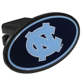 North Carolina Tar Heels Durable Plastic Oval Hitch Cover (NCAA)
