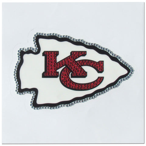 Kansas City Chiefs Vinyl Bling Auto Decal (NFL)