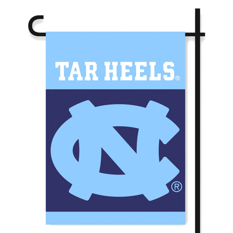 "North Carolina Tar Heels 13"" x 18"" Two Sided Garden Flag (NCAA)"