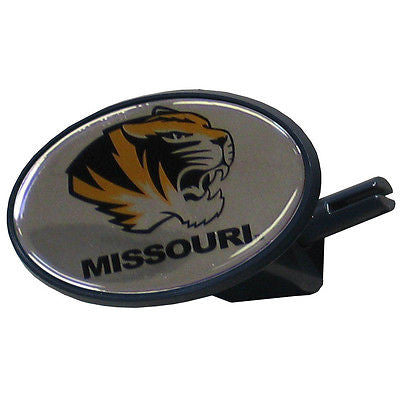 Missouri Tigers Durable Plastic Oval Hitch Cover (NCAA)