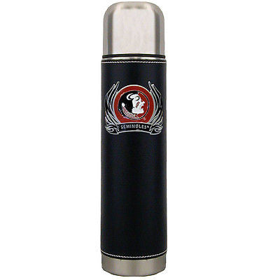 Florida State Seminoles 24 oz Insulated Thermos (with Flames) (NCAA)