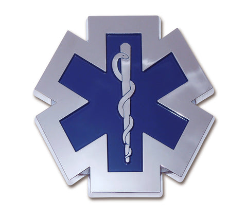 EMS Chrome Auto Emblem (Occupational)