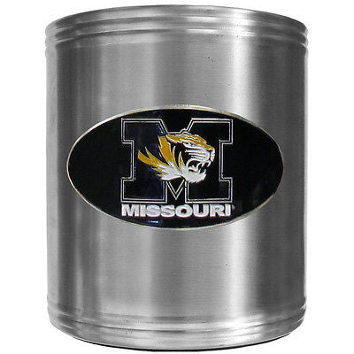 Missouri Tigers Insulated Stainless Steel Can Cooler Coozie (NCAA)