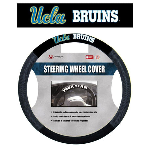 UCLA Bruins Poly-Suede Steering Wheel Cover NCAA