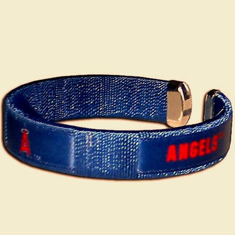 Los Angeles Angels Fan Band Bracelet MLB Licensed Baseball Jewelry