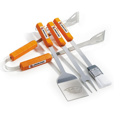 Oregon State Beavers 4 Piece BBQ Set NCAA