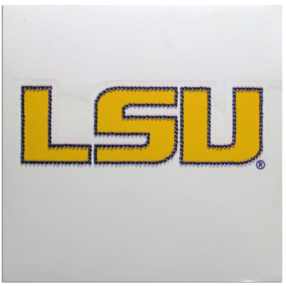 LSU Tigers Vinyl Bling Auto Decal (NCAA)