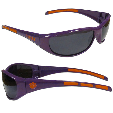 Clemson Tigers Wrap Sunglasses (NCAA)