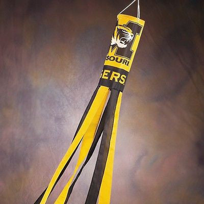 "Missouri Tigers 60"" Polyester Wind Sock NCAA"