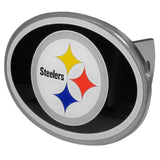 Pittsburgh Steelers Metal Oval Hitch Cover (NFL)